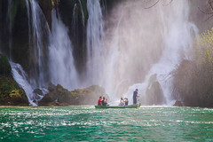 Kravica Waterfalls (ncs1984) Tags: kravica waterfall kravicawaterfalls waterfalls kravice kravicewaterfall kravicawaterfall kravicewaterfalls green water river color colour canon canon6d nice landscape boat boating travel europe bosnia herzegovina bosniaandherzegovina ngc