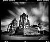 Mir (tsiklonaut) Tags: pentax 6x7 67 film analog analogue analogica analoog 120 roll medium format kodak tmax 400 tmy black white negro y blanco mustvalge bw monochrome long exposure belarus valgevene mir castle kindlus loss clouds architecture travel discover experience drumscan drum scan scanner pmt unesco