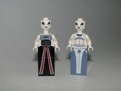 Kaminoan - Lama Su and Taun We (3d_predator) Tags: star wars kaminoan lama su taun we custom republic imperial figure figur 3dpredator clone lego
