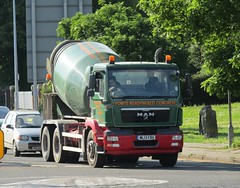 Potters group ML13 FDU at Welshpool (Joshhowells27) Tags: lorry truck man mixer pottersgroup welshpool