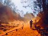 """Poussière d'or ... ( P-A) Tags: couleur ocre poussière roussillon sable terre vent visite photos simpa© provence luberon brumeetbrouillard """"nikonflickraward"""""""