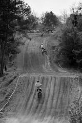 jump (Rene_1985) Tags: wriezen moto cross silberberg mc monochrom bw sw sony a7 mark2 135f18z sonnar tele 135mm 18