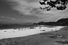 Playa de Rodas (Islas Cíes) (Martin Kastar) Tags: agua atardecer beach boat barco bateau cielo sea galicia galiza isla islascies island paisaje sky landscape mar playa plage sunset vigo