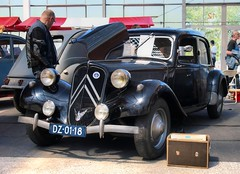 Citroën Traction Avant 11 BL (Skylark92) Tags: nederland netherlands holland noordholland vijfhuizen expo haarlemmermeer citromobile 2018 citroën traction avant 11 bl dz0118 onk 1949