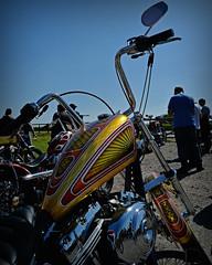 Rolling Art.. (Harleynik Rides Again.) Tags: harleynikridesagain chopper rollingart hd blockhead paint