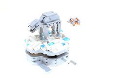 LEGO Hoth AT-AT and Snow Speeder (Mini-Model) (Josh DaVid LEGO Creations) Tags: lego starwars lastjedi mechanical technic interest video joshdavid josh david jedi sculpture kinetic walking awesome atat at snowspeeder snow speeder