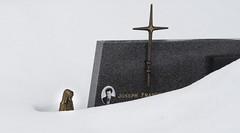 Cimetiere des Gets - Alpes - France (belzebello) Tags: france luminosite sony cemetery luminosity snow cimetiere lumiere alpes