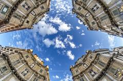 nuvole - clouds (Peppis) Tags: palermo sicilia sicily quattrocanti cielo dramaticsky sky nuvole clouds peppis giuseppecostanzo nikon nikond7000 anticando centrostorico bestimageofitaly hccity hcct architettura architecture