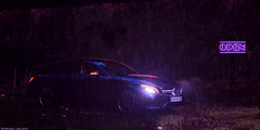 outrun (emanuil.hv) Tags: night cls63 amg mercedes lights open road trip diecast 118 modelcar resin