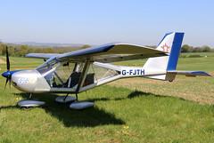 G-FJTH (GH@BHD) Tags: gfjth aeroprakt a22 foxbat a22foxbat pophammicrolighttradefair2018 pophamairfield popham microlight aircraft aviation