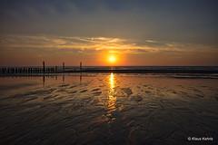 Ebbe - 15051804 (Klaus Kehrls) Tags: sonnenuntergang nordsee strand meer abend dämmerung