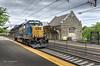 CSX and Beautiful Madison Station (bozartproductions) Tags: madison csx locomotive new jersey transit station engine