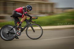 Vuelta Ciclista a Navarra - Contrareloj Tudela 1 (javidurojimenez) Tags: ciclismo bike carrera competicion deporte sport navarra tudela españa spain carretera contrareloj bici bicicleta lizarte accion action vuelta