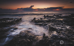 Amongst The Rocks (Explore 26/05/2018) (RTA Photography) Tags: paphos cyprus sunset dusk mediterraneansea rocks rock sky clouds sea waves longexposure fullframe nikon fx nikkor1835 d750 outdoors nature seascape explore 600faves