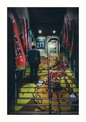 Hiroshima 2017 (elizzzzza67) Tags: 18200mm 2017 appareilphoto canon70d escalier graffitis hiroshima homme japon streetart streetphotography
