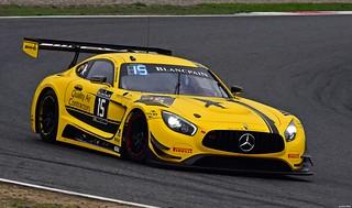 Mercedes-AMG GT3 / Dore Chaponik / USA / Brett Sandberg / USA / Scott Heckert / USA / Black Falcon