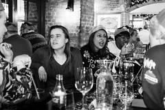 S&I Christmas dinner (Gary Kinsman) Tags: london se1 morelondon londonbridge people person bw flash blackwhite christmasdinner christmasparty workchristmasparty candid unposed 2017 ballsbrothershaysgalleria ballsbrothers haysgalleria bar pub restaurant