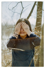 Eyes that can't see (gpsiong) Tags: minolta srt201 vista agfa film 200 50mm f17 gepierresiong portrait people