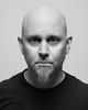Me (VK3Photographix) Tags: portrait selfportrait monochrome blackandwhite face male head human