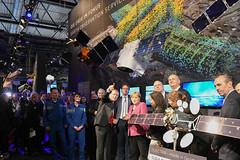 ILA 2018 opening tour (europeanspaceagency) Tags: esa europeanspaceagency space universe cosmos spacescience science spacetechnology tech technology ila ila2018 berlin germany exhibition tour angela merkel samanthacristoforetti janwoerner