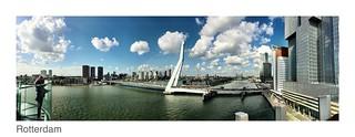Rotterdam - Erasmusbrücke - AIDAperla