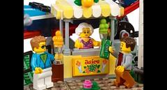 10261 LEGO Creator Expert: Roller Coaster (KPowers67) Tags: rainbow bricks lego user group lug newcastle nsw central coast roller coaster creator expert 10261