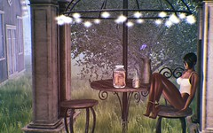 Nobody Knows (SueGeeli DeCuir) Tags: elleboutique anklebracelet springflair raindale patioset cosmopolitan addams ravenbell isildesigns littlebranch foxcity