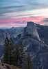 Washburn Point Pink Sunrise (optimalfocusphotography) Tags: northerncalifornia california spring landscape yosemite halfdome yosemitenationalpark nationalpark sierranevada yosemitenp sunrise nature sky usa clouds