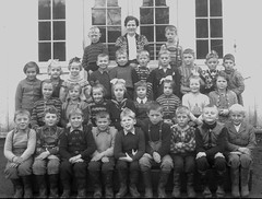 Class photo (theirhistory) Tags: boy girl child children kid school group class form pupils students teacher trousers jumper wellies rubberboots