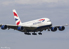 British Airways A380-800 G-XLEH (birrlad) Tags: heathrow lhr international airport london uk aircraft aviation airplane airplanes airline airliner airways airlines approach arrival arriving finals landing runway 09l british speedbird ba ba286 sanfrancisco airbus a380 a380800 a380841 gxleh