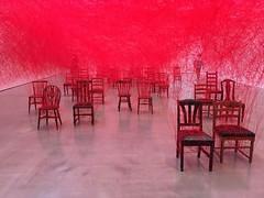 The Distance - Chiharu Shiota (rotabaga) Tags: göteborg gothenburg göteborgskonstmuseum thedistance chiharushiota artexhibition konstutställning