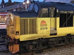 37219 Crewe 12/5/18 (Flikrman Gaz) Tags: class37 englishelectric colas