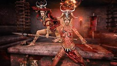 Voodoo Tribe (Duchess Flux) Tags: weloveroleplay fantasygachacarnival collabor88 curemore cureless moonamore laq demonic biteclaw bodylanguage besom violetility fantasy voodoo secondlife sl