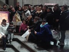 """10.03.2018 Sinodo Chiesa dalle Genti, Messa con i devoti della Madonna di Socavon(Bolivia) e poi aperitivo condiviso sul sagrato (1) • <a style=""""font-size:0.8em;"""" href=""""http://www.flickr.com/photos/82334474@N06/41229757015/"""" target=""""_blank"""">View on Flickr</a>"""