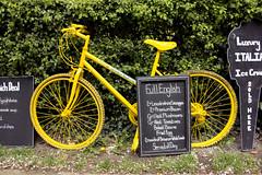Cycling breakfast (barronr) Tags: england knaresborough landscape rkabworks rivernidd riverside sign yorkshire bathgatephotographer view