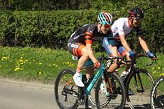 34  Tobyn Horton and 194 James Shaw (Steve Dawson.) Tags: tourdeyorkshire mens cycle race bikes uci peloton tdy lycra randgrange yorkshire england uk canoneos50d canon eos 50d ef28135mmf3556isusm ef28135mm f3556 is usm 5th may 2018 34 tobynhorton madisongenesis 194 jamesshaw gbcycleteam stage3 richmondtoscarborough