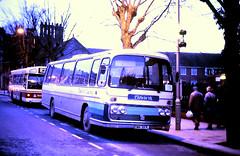 Slide 117-96 (Steve Guess) Tags: tidworth coaches plaxton bedford broadway winchester hampshire england gb uk coach hants emr397l bus yrt eliteiii