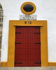 Bullring Door No 12 (Marc Sayce) Tags: door puerta sol 12 bullring plaza toros real maestranza caballería seville sevilla andalucía andalusia spain españa may 2018