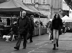 Folks on the Cornhill  Bury St Edmunds (Bury Gardener) Tags: streetphotography street streetcandids candid candids people peoplewatching folks snaps 2018 nikond7200 burystedmunds suffolk england eastanglia uk strangers blackandwhite bw cornhill