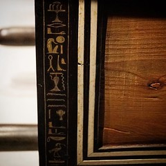 Hieroglyphics Detail On Wooden Box King Tut: Treasures of the Golden Pharaoh On Saturday we toured the King Tut Exhibit at the California Science Museum. It is a wonderful exhibit and I will be featuring photos here over the next several weeks. You can se (dewelch) Tags: ifttt instagram hieroglyphics detail on wooden box king tut treasures golden pharaoh saturday we toured exhibit california science museum it is wonderful i will be featuring photos here over next several weeks you can see entire collection flickr facebook pages history art artifact egypt egyptian kingtut kingtutankhamun wood boxes furniture