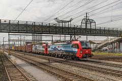193 464 en 193 462 SBB Cargo International. Pratteln (Hans Wiskerke) Tags: pratteln basellandschaft zwitserland ch