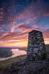 Sunrise on Hallin Fell (Squareburn) Tags: hallinfell lakedistrict cumbria wildcamping nationaltrust sunrise dawn summit cairn wainwright