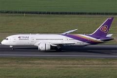 Thai Airways International Boeing 787-8 HS-TQA (c/n 35315) (Manfred Saitz) Tags: vienna airport schwechat vie loww flughafen wien thai airways international boeing 7878 788 b788 dreamliner hstqa hsreg