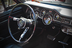 Mustang Dashboard (big_jeff_leo) Tags: car carshow vintage veteran classic classiccar vehicle show