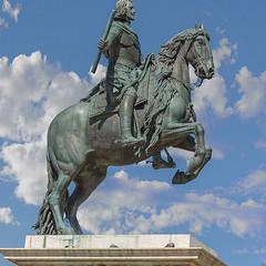 Estatua-ecuestre-de-Felipe-IV (luis mascu) Tags: estatua caballo felipe iv plazadeoriente