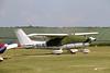 G-BUJE Cessna 177B Cardinal, FG93 Group, Old Sarum, Wiltshire (Kev Slade Too) Tags: gbuje cessna177 cardinal fg93group oldsarum wiltshire egls