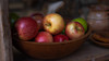 Apples (Yaecker Photography) Tags: columbia columbiadiggins street streetphotography apples fruit stilllife red dark shadow vignette rustic