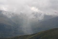 An isolated shower. (Davie Main) Tags: sgurrnalapaich isolatedshower raincloud shower rain dreich poorweather highlands highlandsofscotland glencannich