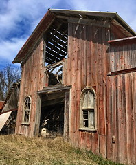 In The Beginning (nelhiebelv) Tags: shed barn original color riverraisin michigan carriagehouse