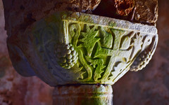 Capital 3 (orientalizing) Tags: architecture byzantine capital church churchofodigytria desktop featured greece mani panayiachurch panayiaagitria tigani 13thcentury